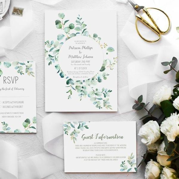 Patricia Wedding Invitation