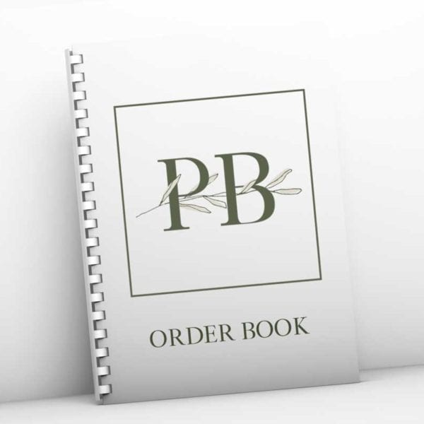 Personalised Business Order Book