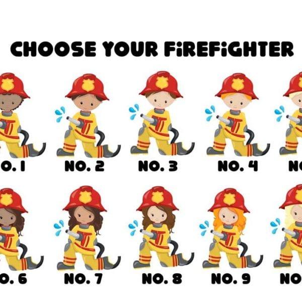 Fireman Invitations