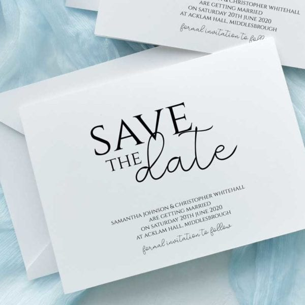 Samantha Save the Date Cards