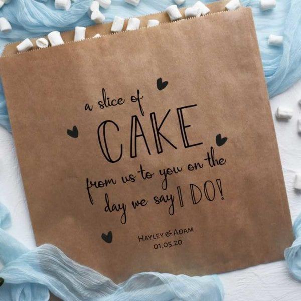 Cake Bags - Kraft