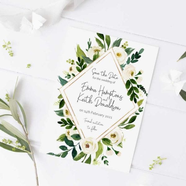 Emma Save the Date Card