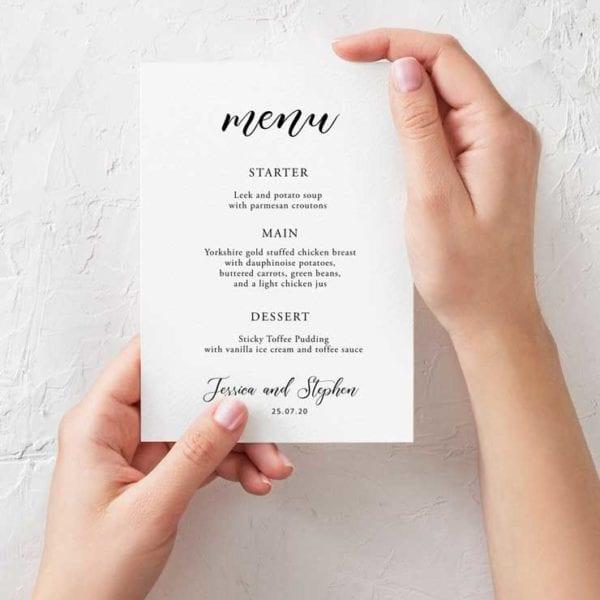 annabelle menu a5