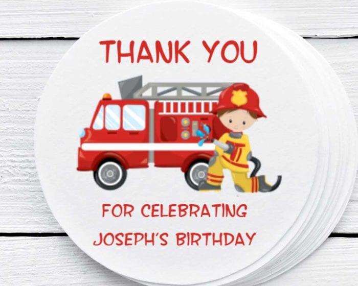 fireman stickers