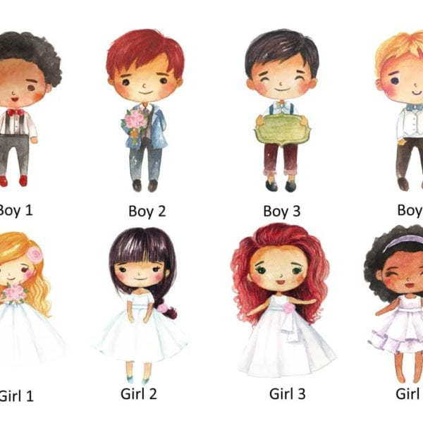 Boys and Girls Wedding Activity Book