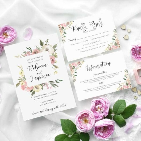 Jemma Wedding Invitation Set