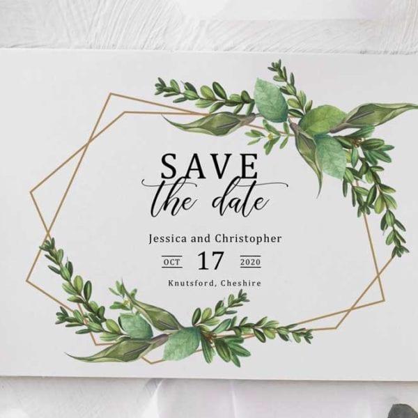 Jessica save the date