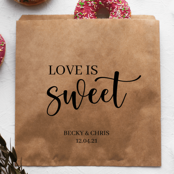 love is sweet bags