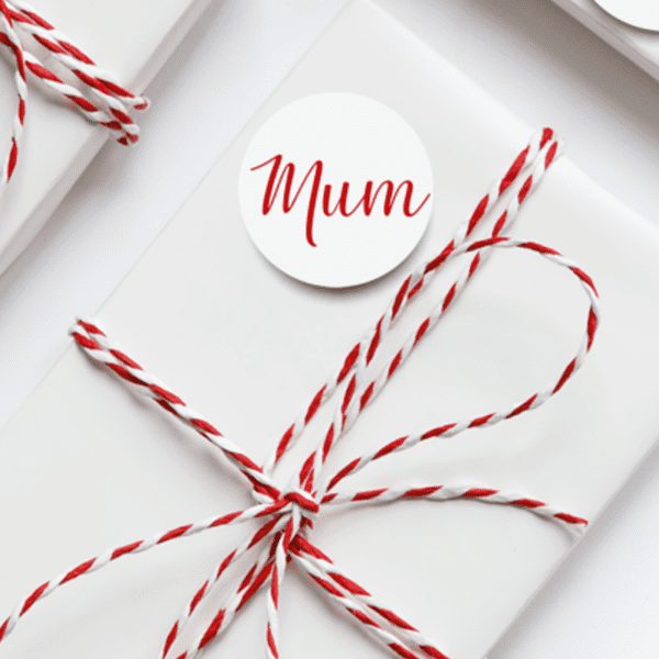 Personalised Name Christmas Gift Stickers - mum stickers