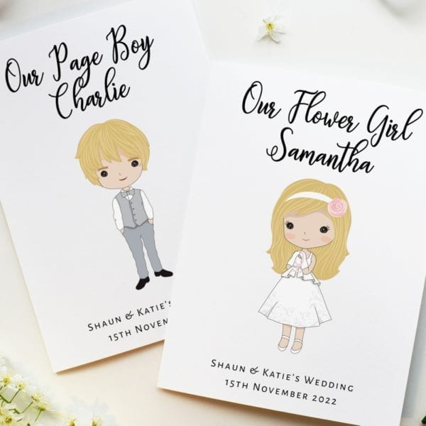 Flower Girl, Page Boy Activity Books - Catholic Edition